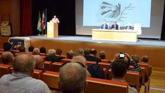 Jornada sobre el futuro del ferrocarril celebrado en la UAL