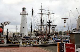 Photo: Hiukan vanhempaa laivastoa - ja merimuseon yhteydessä oleva majakka