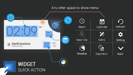 HTC Sense Style Weather Widget 2.0_release screenshot 203407
