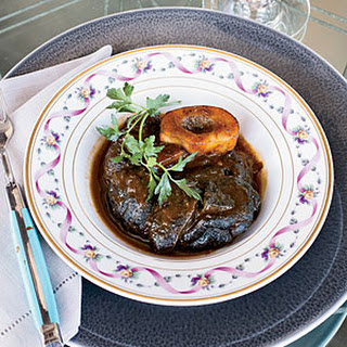 Red-Wine-Braised Beef Shanks