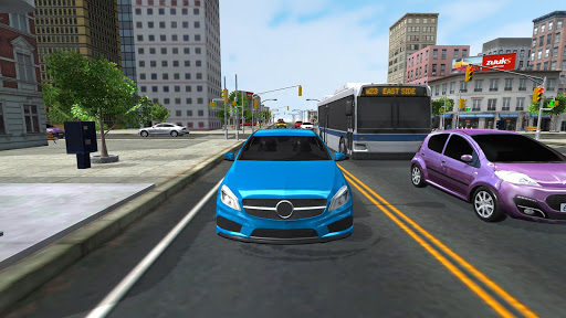 City Driving 3D APK MOD screenshots 2
