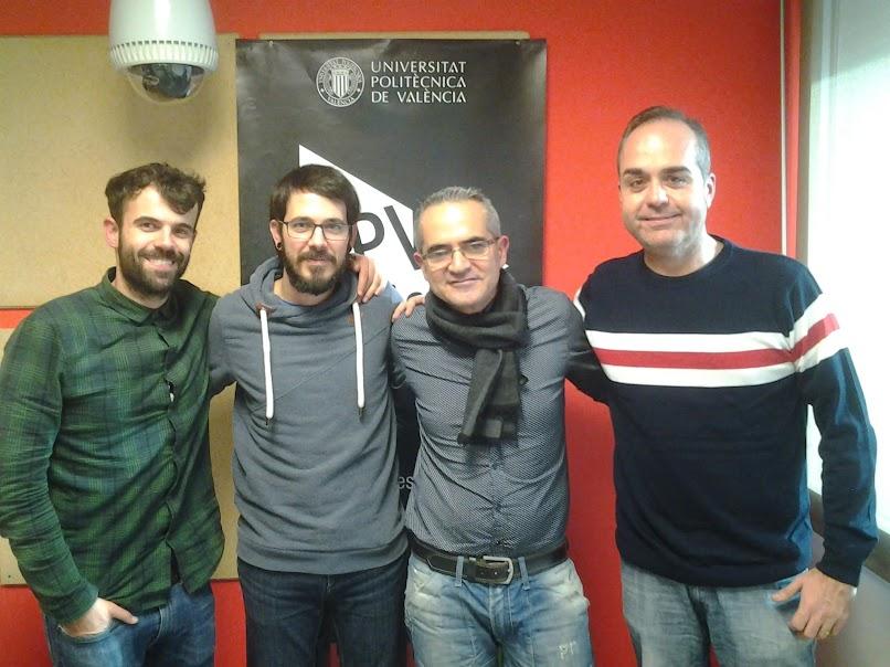 Hablemos de Fallas en UPV-RADIO. Programa nº 65. Grego Acebeo, Paco Camallonga y Roberto Elias