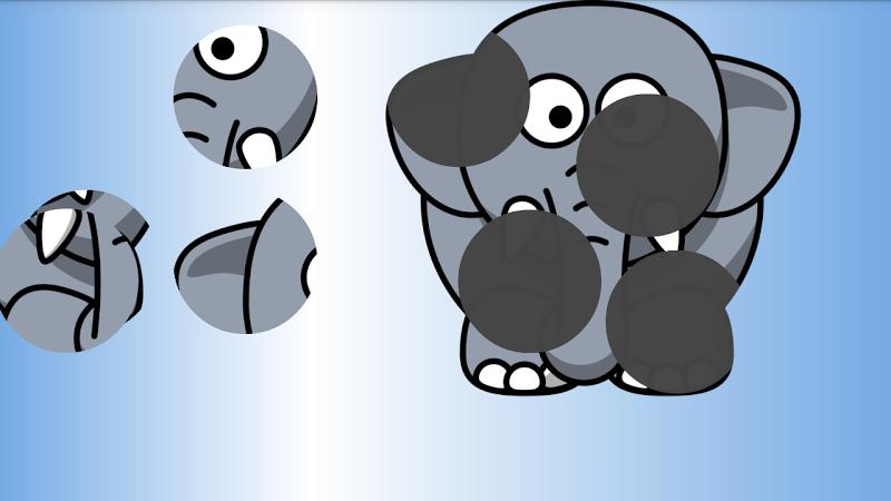 Скриншот Пазл для детей: животные