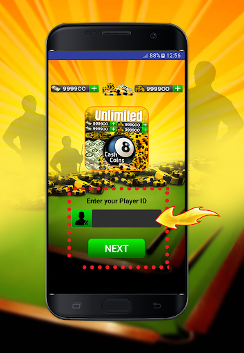 Coins and Cash for 8 ball Pool Prank 2.4 screenshots 2