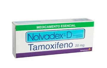 Tamoxifeno Nolvadex-D 20Mg Comprimidos Caja x30Com. AstraZeneca