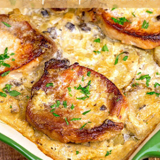 Scalloped Potatoes Cream Mushroom Soup Recipes