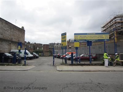 Euro Car Parks On Britannia Street Car Parking Garaging In