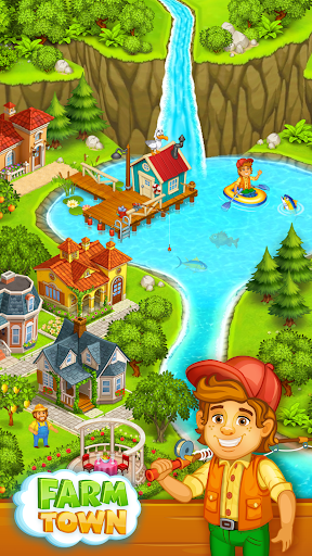 Farm Town: Happy village near small city and town 2.49 de.gamequotes.net 1