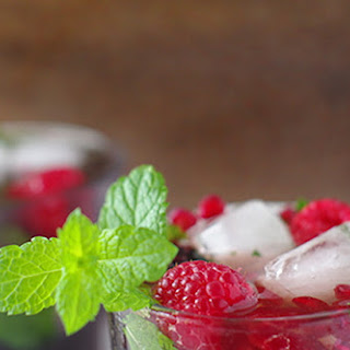 Blackberry & Black Rum Mojito