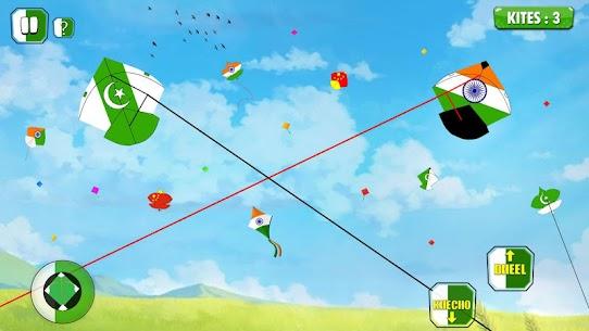 India Vs Pakistan Kite Flying Combat 1