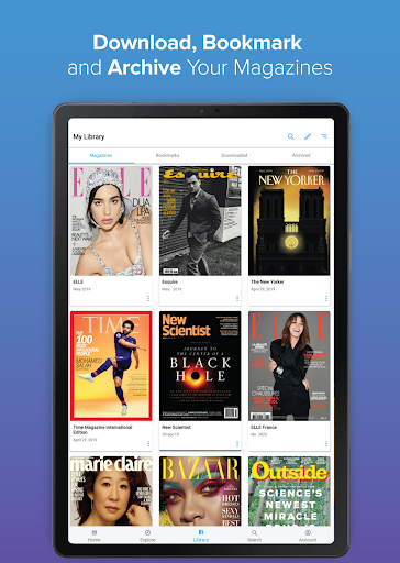 Zinio Magazine Reader screenshot 6