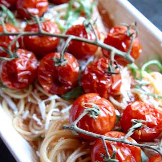 Roasted Cherry Tomato Pasta.