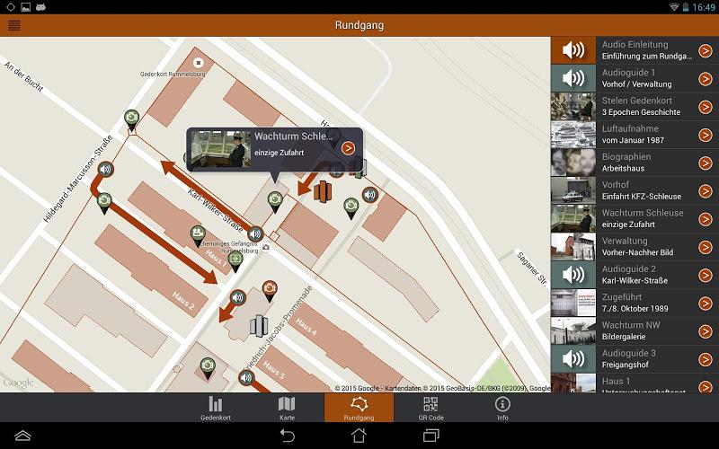 Скриншот Gedenkort Rummelsburg