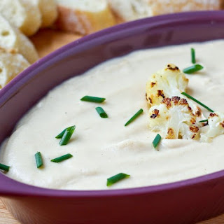 Roasted Cauliflower and Cheddar Dip