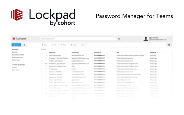LockPad by Cohort Extension