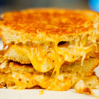 The Almost-Perfect Grilled Cheese Sandwich.