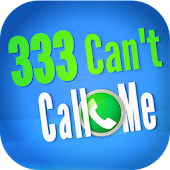 333 Can't Call Me