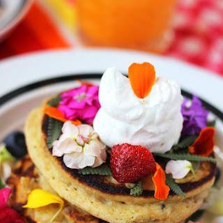 Pretty Whole Wheat Ricotta Pancakes Recipe