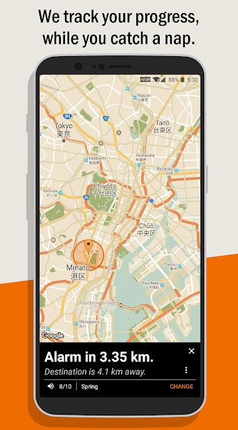 Naplarm – Location Alarm / GPS Alarm v5.0.2 [Pro]
