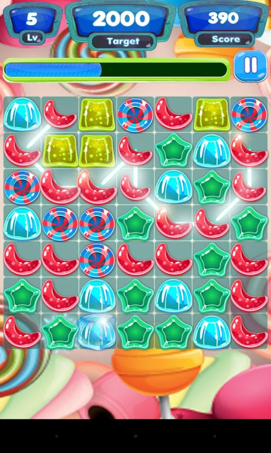Sugar Link Sweet Rush- screenshot