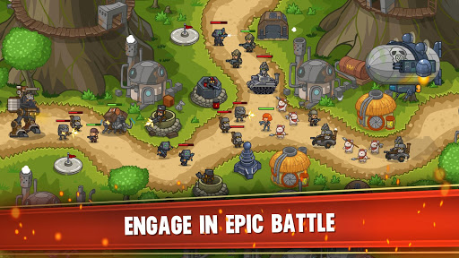 Steampunk Defense: Tower Defense  screenshots 5
