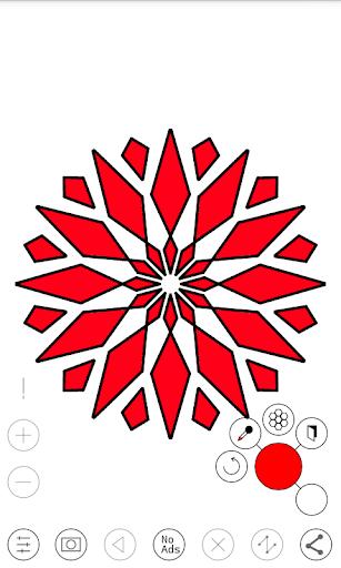 Line Art - Circular Vector Drawing App 1.1 screenshots 2