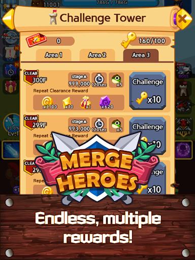 Merge Heroes Frontier: Casual RPG Online screenshots apkshin 13