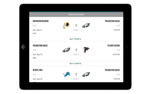Eagles Official Mobile screenshot 10