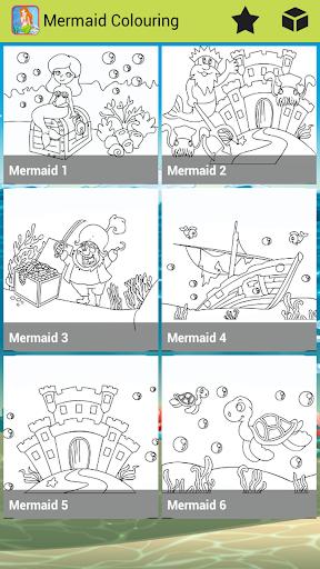 【免費教育App】Mermaid Colouring-APP點子