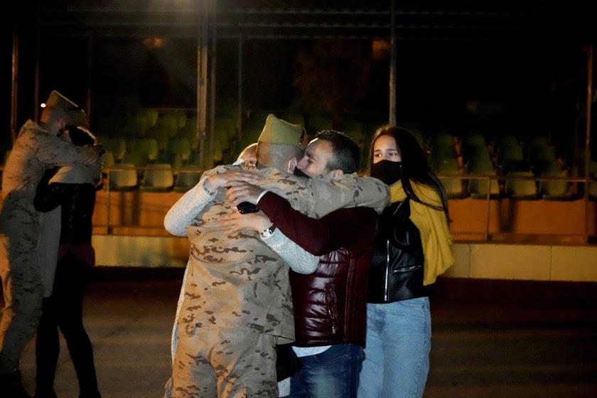 En imágenes: la Legión vuelve a casa tras 6 meses en Mali