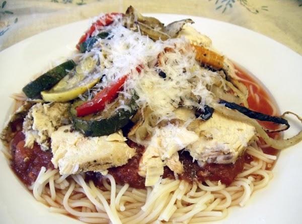 Balsamic Chicken Garden Medley Recipe