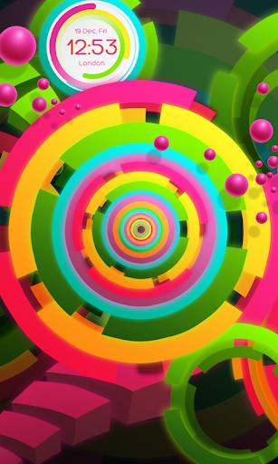 玩免費個人化APP|下載Rainbow clock PRO app不用錢|硬是要APP