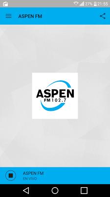 Radio Aspen FM - screenshot