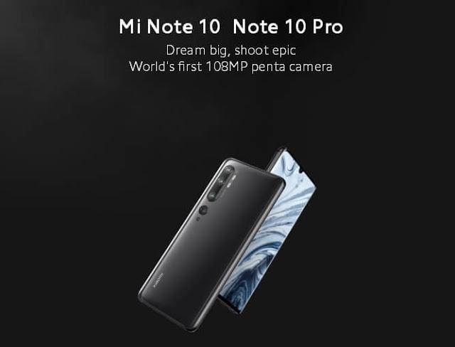 Xiaomi mi note 10 specifications and review | reviewsbyvivek