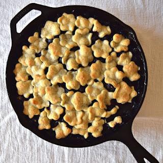 Blueberry Rhubarb Pandowdy Recipe