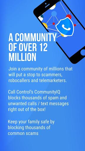 Call Control - #1 Call Blocker. Block Spam Calls! 2.19.2 screenshots 1