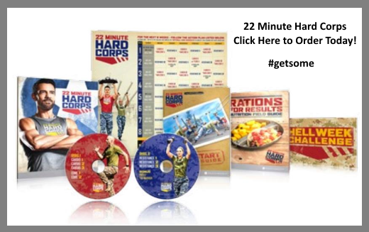 Order 22 Minute Hard Corps Today!