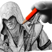 Sketch Ninja Assassin Creed