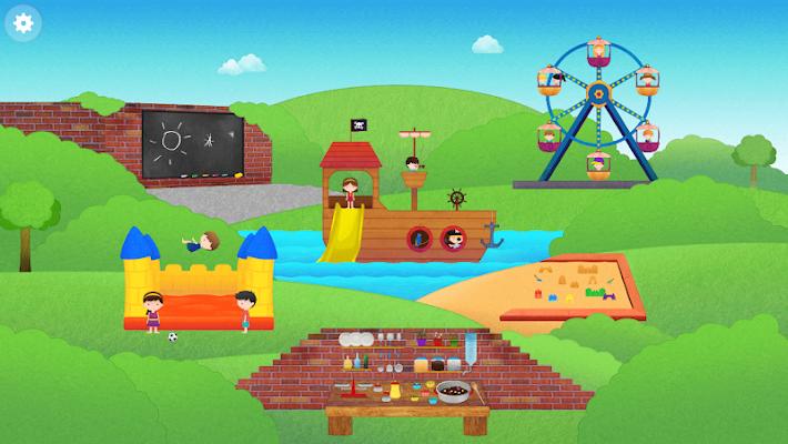 Playground for kids - screenshot