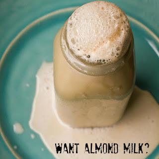 Fast Easy Almond Milk - Classic