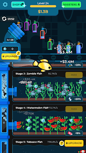 Idle Fish Aquarium Mod Apk (Unlimited Money) 4
