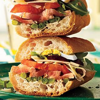 Pan Bagnat (Niçoise Salad Sandwiches)