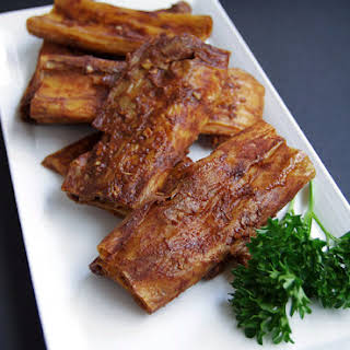 Chinese BBQ Yuba Ribs.