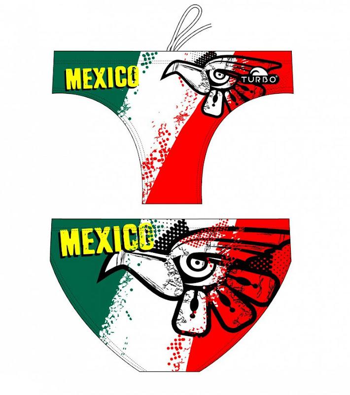 Turbo Waterpolo Suit Junior MEXICAN FALCON - 7958022