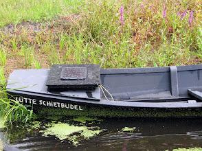 Photo: Von der Kreuzkuhle aus machten wir eine Torfkahnfahrt über den Oste-Hamme-Kanal.