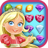 Jewels Princess Crush Mania - Matching Puzzle Game