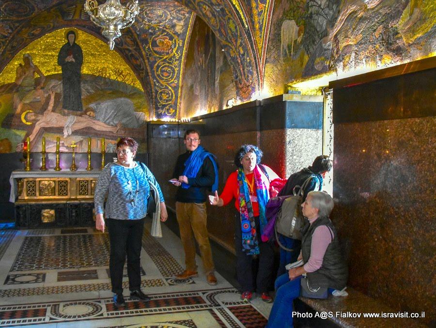 Голгофа. Место казни Иисуса Христа. 11 стояние Виа Долороза. Экскурсия по Иерусалиму с гидом Светланой Фиалковой.