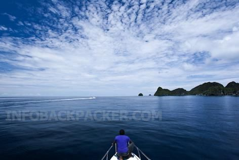 Photo: heading to the blue