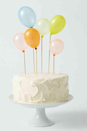 クリエイティブバースデーケーキのアイデア