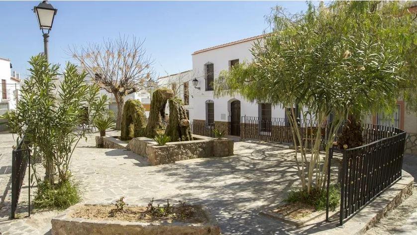 Imagen de este pequeño municipio de la Alpujarra almeriense.